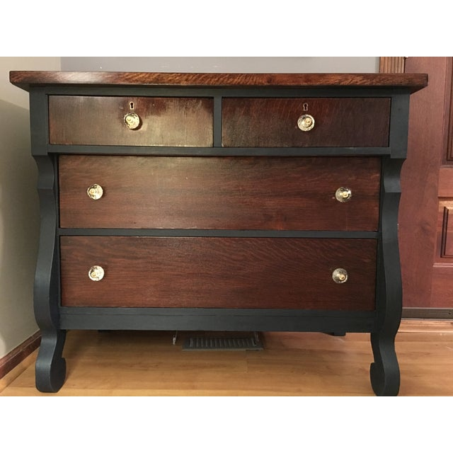 Vintage Empire Style Set of Drawers - Image 2 of 4