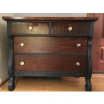 Image of Vintage Empire Style Set of Drawers