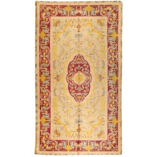 Antique Spanish Savonnerie Carpet