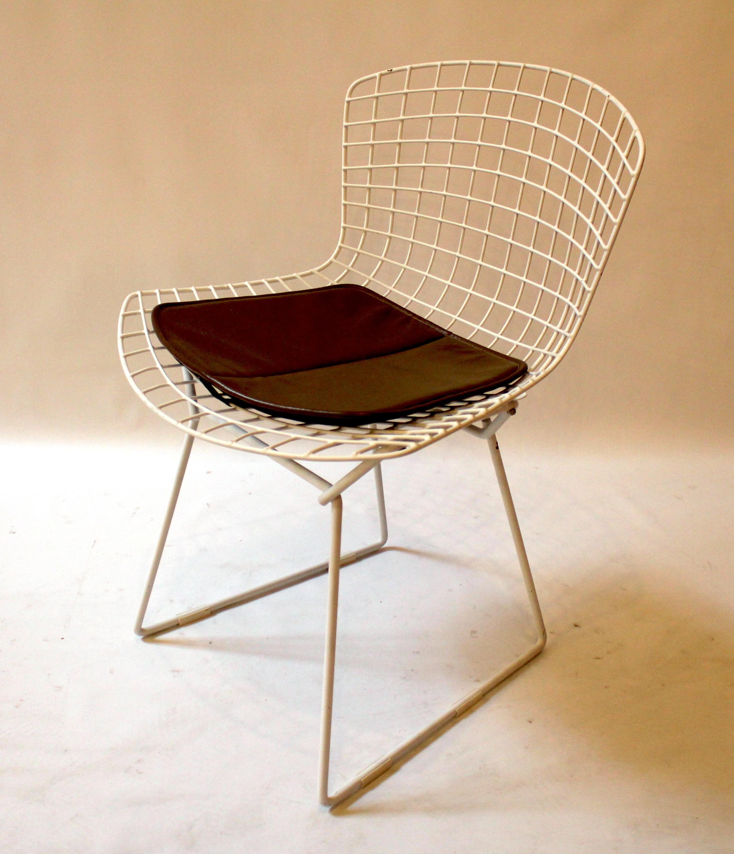 1960s Harry Bertoia For Knoll Wire Side Chairs  Set Of 6   Image 3 Of