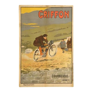 Circa 1910 Walter Thor Motorcycle Poster