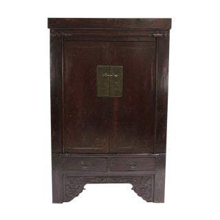 Antique Chinese Ming Style Armoire