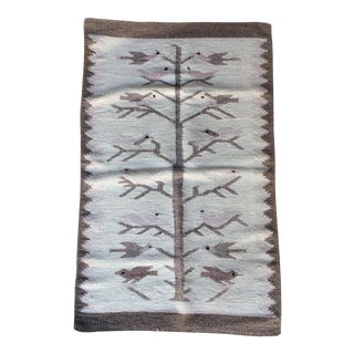 Vintage Navajo Mexican Style Rug or Wall Hanging