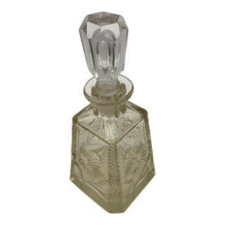 Antique Crystal Scent Bottle