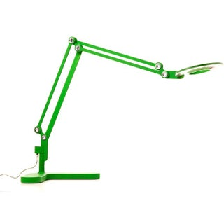 Small Adjustable Table Lamp in Green