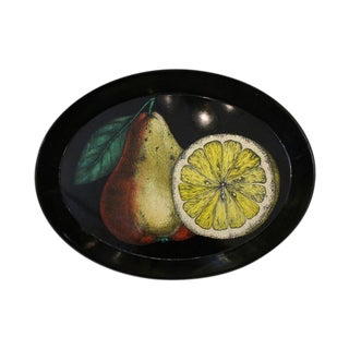 Decorative Piero Fornasetti Oval Tray