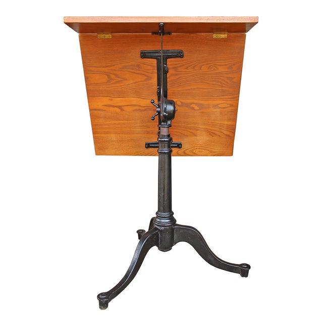 Vintage Pine Drafting Table - Image 5 of 5