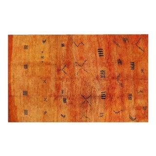Moroccan Orange Rug - 7′3″ × 11′3″