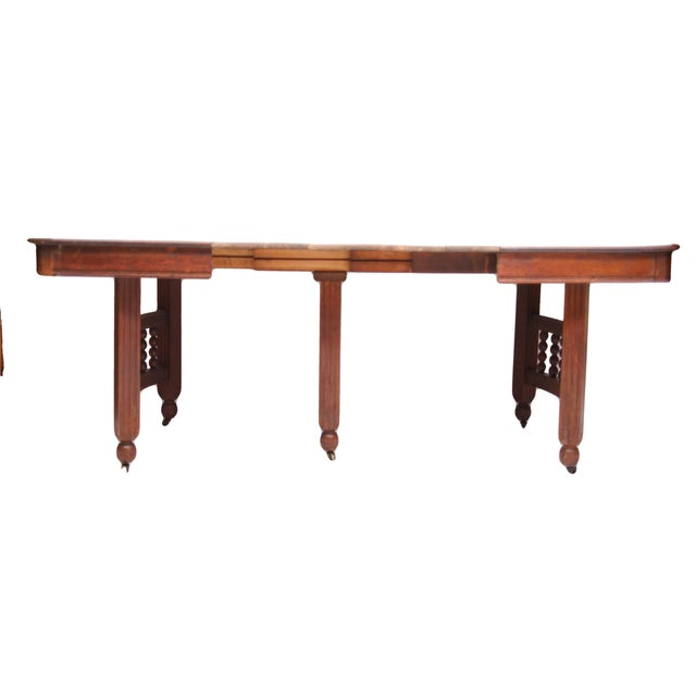 Antique Stick & Ball Dining Table - Image 7 of 7