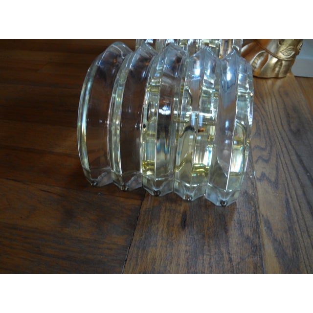Image of Brass & Lucite Sconces - A Pair