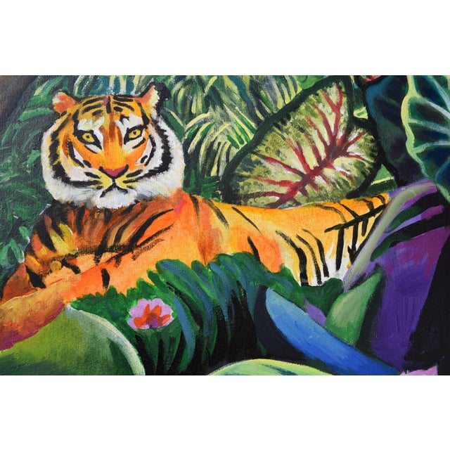 Domain of the Panthera Tigris Triptych - Image 3 of 10