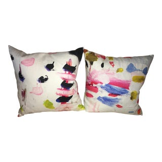 Pierre Frey Arty Pillow Covers - A Pair