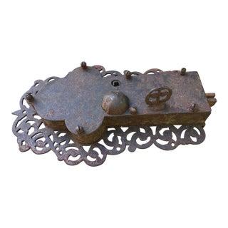 Large Antique Medieval Irish Castle Door Lock