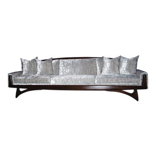 Adrian Pearsall Style Wing Sofa