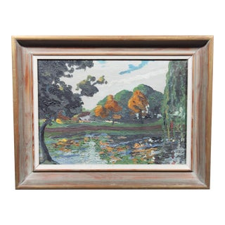 1921 Oil Painting