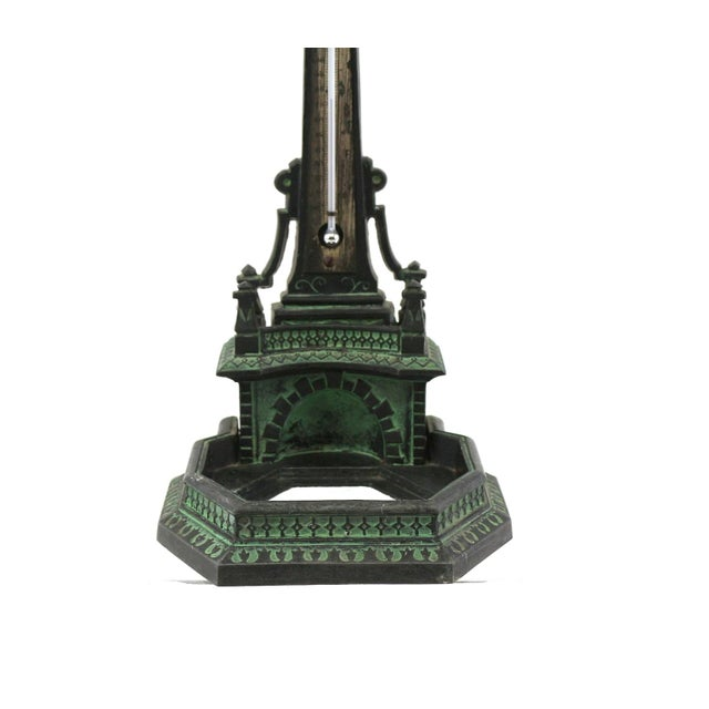 Image of 1920s N. Muller Inkwell Thermometer Fountain