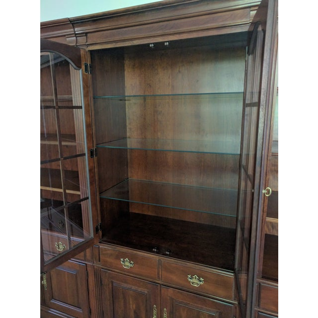Pennsylvania House Bookcase Wall Unit - 3 Pieces - Image 7 of 10