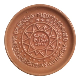 Vintage Hotels Bettoja Roma Terracotta Ashtray