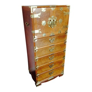 Vintage Asian Camphorwood Dresser