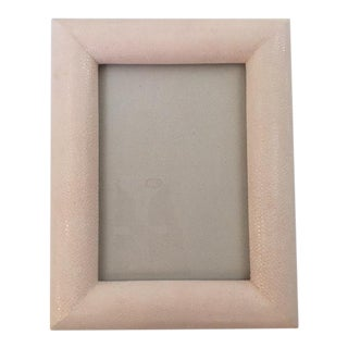 Light Pink Shagreen Picture Frame