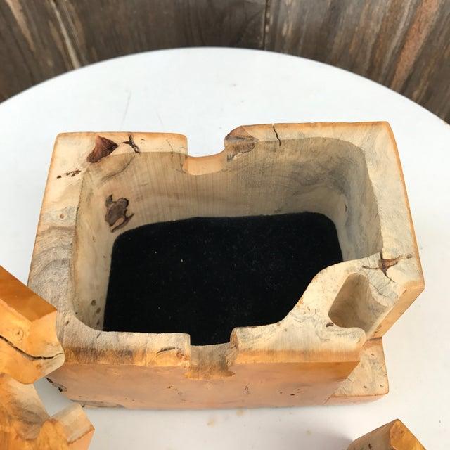 Image of Raw Edge Wood Puzzle Box