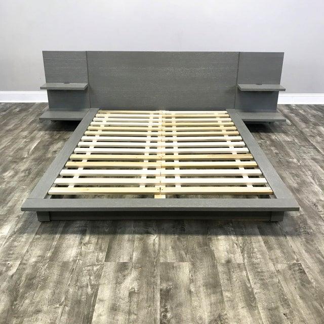 Image of CB2 Modern Queen Bedframe