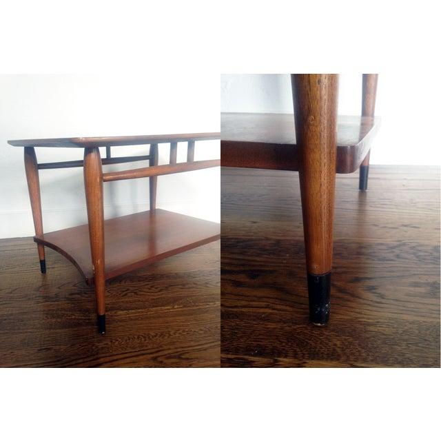 Mid Century Wood Coffee Table - Lane - Image 5 of 6