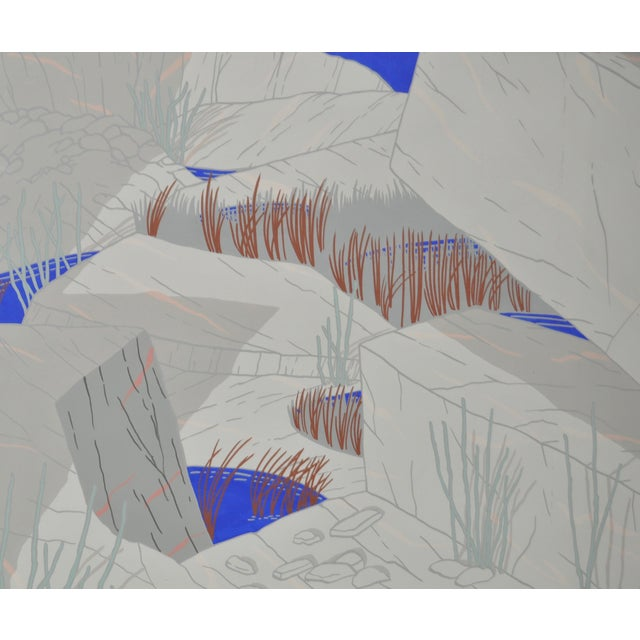 """Jeff Long """"Indian Wells"""" Painting C.1983 - Image 3 of 6"""