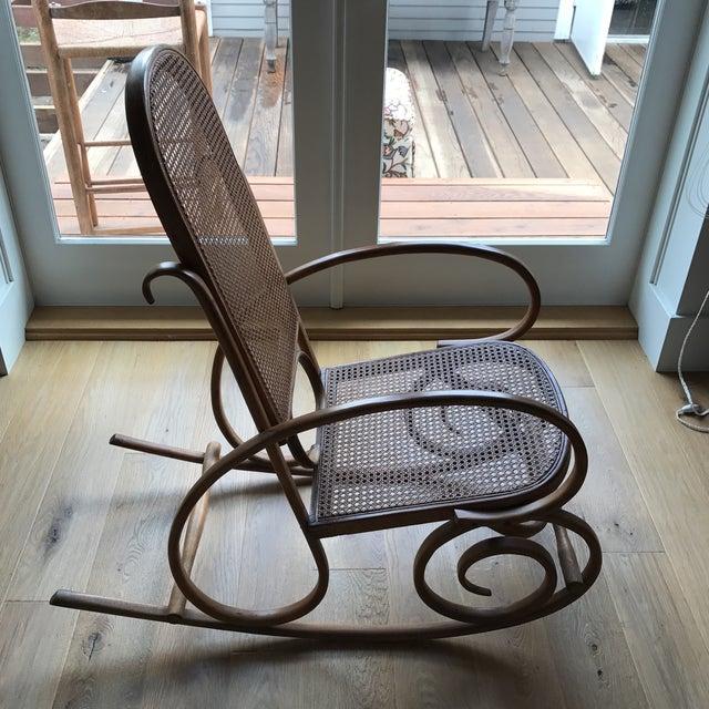 Spanish Bentwood Rocking Chair Rocker - Image 6 of 10