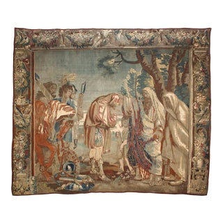 17th c. Flemish Religious Scene Tapestry