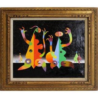 Modern Surrealist Painting by Seymour Zayon
