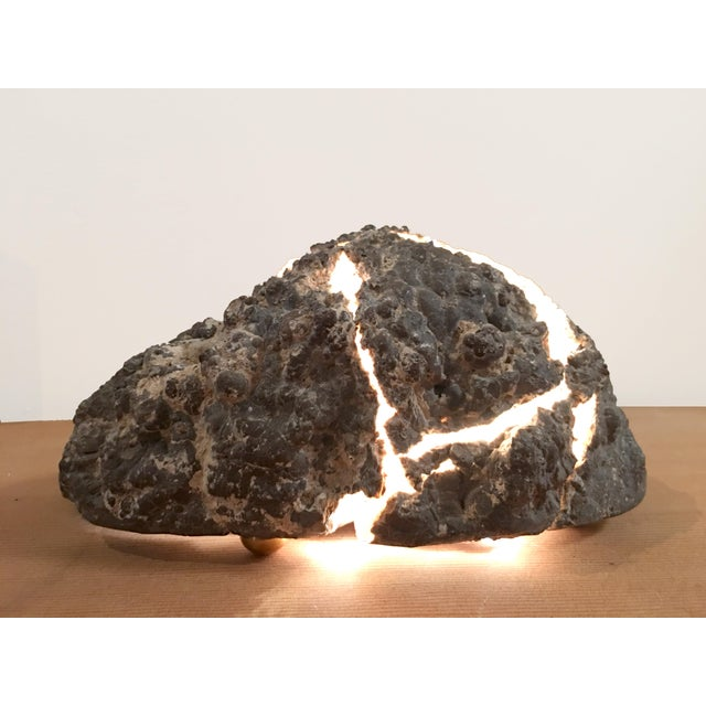 """Lava Rock"" Lamp - Image 2 of 4"
