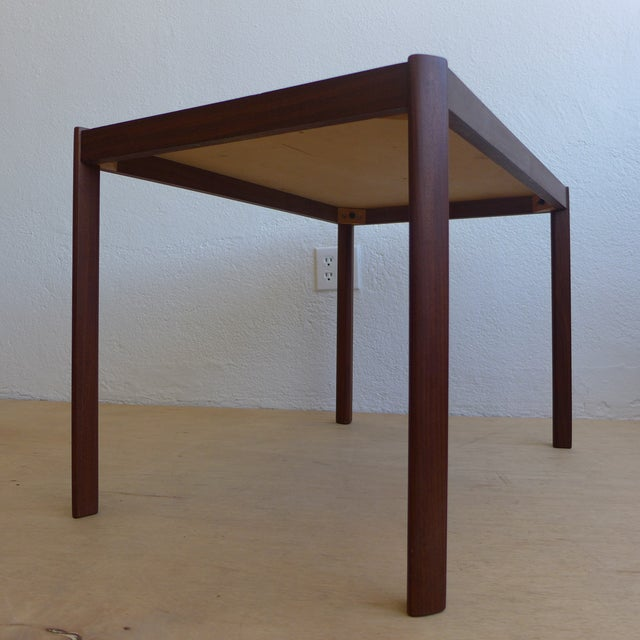 Hans Olsen Eames Era Walnut Teak Night Stand - Image 4 of 8