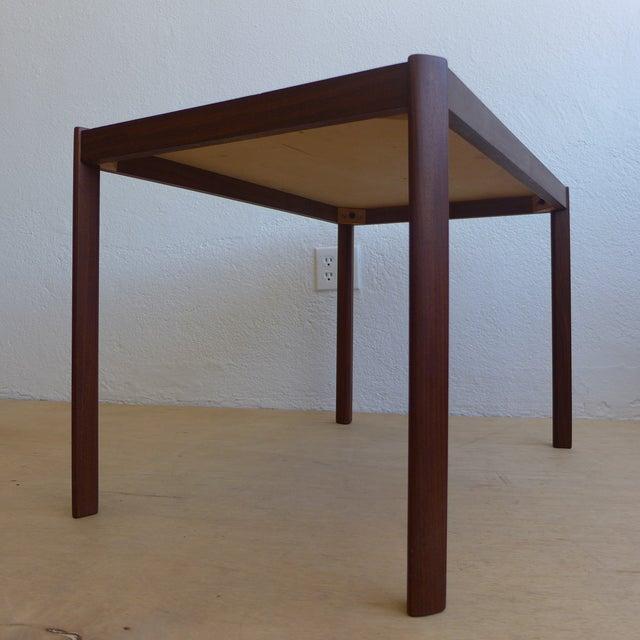 Image of Hans Olsen Eames Era Walnut Teak Night Stand