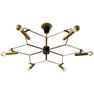 Shallow Star-Shaped Chandelier