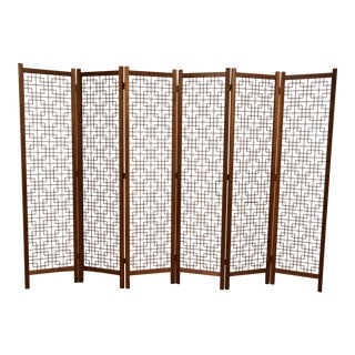 Danish Teak Room Divider Screen