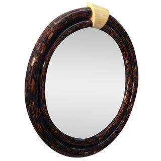 Monumental Karl Springer Mirror