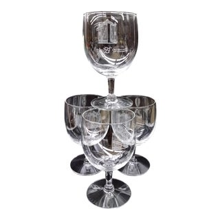 "Original Cordial Bar Glasses ""The 21 Club"" - Set of 4"