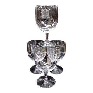 "Original Cordial Bar Glasses ""The 21 Club"" - Set of 4"