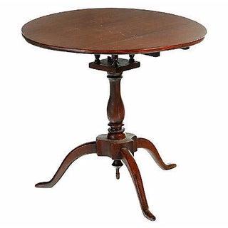 18th Century Rhode Island Tilt-Top Candlestand