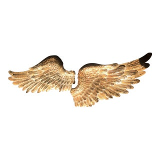 French Gilt Wings - A Pair