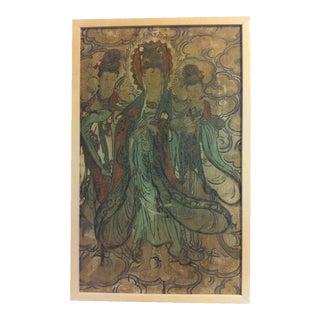 A Ming Dynasty Chinese Buddhist Fresco