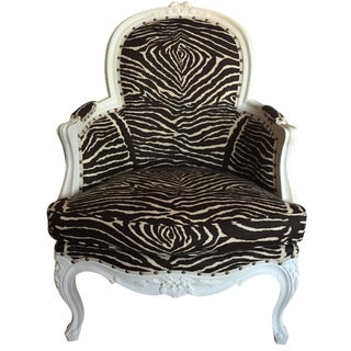 Brunschwig & Fils Zebra French Regency Bergère