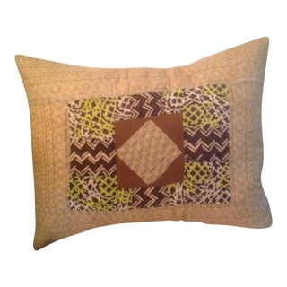 Vintage Sari Pieced Pillow