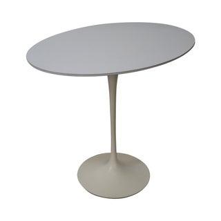 Knoll Early Eero Saarinen Oval Tulip Side Table
