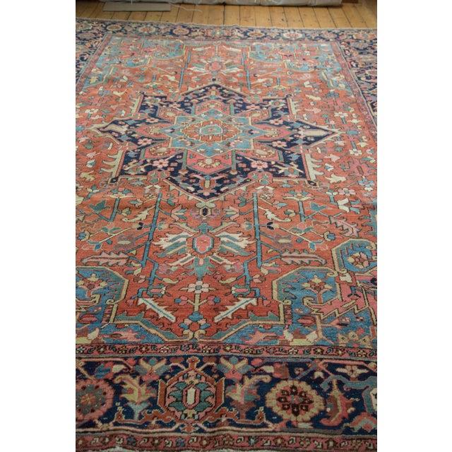 "Vintage Heriz Carpet - 9' X 11'8"" - Image 8 of 10"
