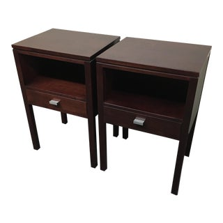 Stickley Metropolitan Side Tables / Nightstands - A Pair