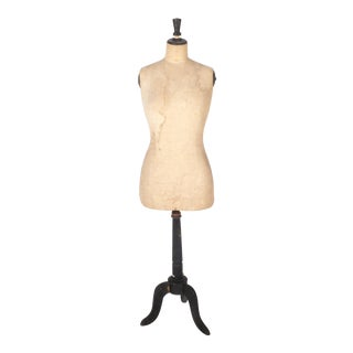 Vintage French Women's Dress Form