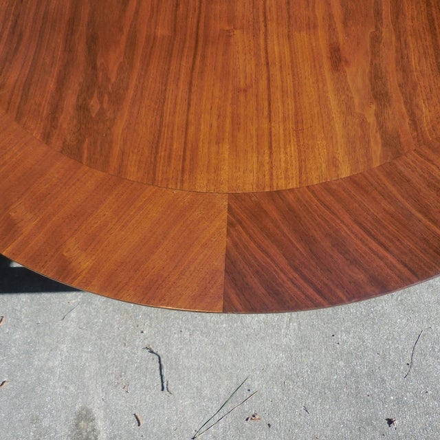 Mid-Century Lane Wood Dining Set - Image 4 of 9