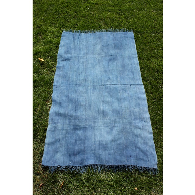 Vintage Mossi Indigo Throw/Textile - Image 5 of 5